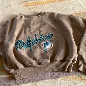 Dolphins Miami cropped Lee sweater